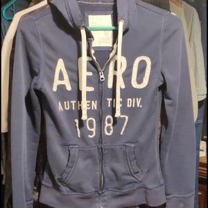 Aeropostale Zip up Hoodie Woman's Size XS
